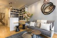 """<p>Located on the quiet sandstone Rue de Jarente, just along from the Place de Vosges, the Rue de Rivoli and the Seine; <a href=""""https://www.booking.com/hotel/fr/jeanne-d-39-arc-paris.en-gb.html?aid=1922306&label=paris-hotels"""" rel=""""nofollow noopener"""" target=""""_blank"""" data-ylk=""""slk:Hotel Jeanne D'Arc"""" class=""""link rapid-noclick-resp"""">Hotel Jeanne D'Arc</a> finds itself in one of Paris's trendiest districts, the Marais. Delis, cafés, galleries, Renaissance-era hotels and Parisian history museums line the leafy streets, which also now boast hip boutiques and craft cocktail bars, perfect for a fun mini-break.</p><p>Despite the classic location, Jeanne D'Arc, named after France's ultimate heroine, comes with all the modern amenities you could need during your stay in the city: a kettle in your room, all-hours honesty bar, continental breakfast in the conservatory and a 24/7 multilingual reception desk. It's favoured for its simplicity and value.</p><p><a class=""""link rapid-noclick-resp"""" href=""""https://www.booking.com/hotel/fr/jeanne-d-39-arc-paris.en-gb.html?aid=1922306&label=paris-hotels"""" rel=""""nofollow noopener"""" target=""""_blank"""" data-ylk=""""slk:CHECK AVAILABILITY"""">CHECK AVAILABILITY</a></p>"""