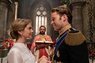 """<p>In the sequel to <strong>A Christmas Prince</strong>, Amber realizes royal life isn't all it's cracked up to be as she plans her <a class=""""link rapid-noclick-resp"""" href=""""https://www.popsugar.com/latest/Wedding"""" rel=""""nofollow noopener"""" target=""""_blank"""" data-ylk=""""slk:wedding"""">wedding</a> to Prince Richard.</p> <p>Watch <a href=""""https://www.netflix.com/title/80238204"""" class=""""link rapid-noclick-resp"""" rel=""""nofollow noopener"""" target=""""_blank"""" data-ylk=""""slk:A Christmas Prince: The Royal Wedding""""><strong>A Christmas Prince: The Royal Wedding</strong></a> on Netflix now.</p>"""