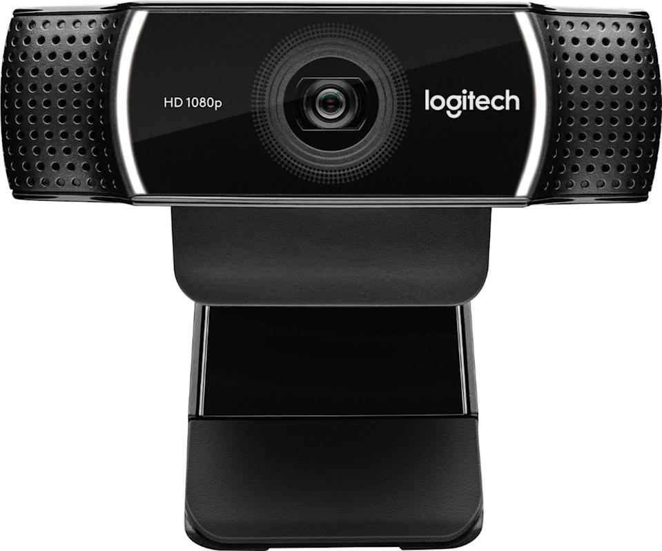 """<p><strong>Logitech</strong></p><p>bestbuy.com</p><p><strong>$124.99</strong></p><p><a href=""""https://go.redirectingat.com?id=74968X1596630&url=https%3A%2F%2Fwww.bestbuy.com%2Fsite%2Flogitech-c922-pro-stream-webcam%2F5579380.p%3FskuId%3D5579380&sref=https%3A%2F%2Fwww.menshealth.com%2Ftechnology-gear%2Fg35237975%2Flong-distance-relationship-gifts%2F"""" rel=""""nofollow noopener"""" target=""""_blank"""" data-ylk=""""slk:BUY IT HERE"""" class=""""link rapid-noclick-resp"""">BUY IT HERE</a></p><p>Because Facetime is already the go-to date of the decade, you might as well embrace it. A better quality camera makes for a more enjoyable video chat. Or...whatever you're doing. </p>"""
