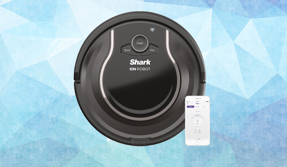 Save $100 on this Shark ION Wi-Fi Robot Vacuum. (Photo: Walmart)