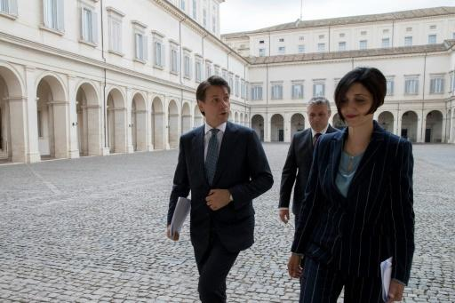 Giuseppe Conte's nomination for prime minister was approved by Italy's president at the Quirinal palace in Rome
