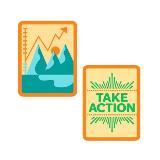 PHOTO: New Girl Scouts badge entitled; 'Think like a Citizen Scientist.' (Girl Scouts of the USA)