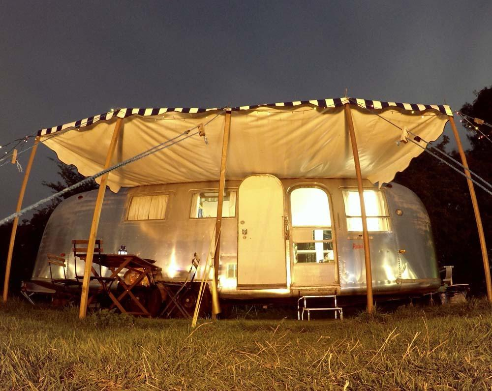 """<p>Vintage lovers, look no further than <a href=""""http://www.happydaysrv.co.uk/"""">these American Airstream pads</a>. The trailers have retro floral curtains and sassy red upholstery, as well as seating areas that can convert into extra bed space. The car-free, tree-lined site is completely surrounded by farmland and only seven miles from the Suffolk coast. Heading to Latitude Festival? This site is only 20 minutes away. A weekend in 'Nettie', an Avion Airstream, costs from £220. Sleeps two.</p>"""