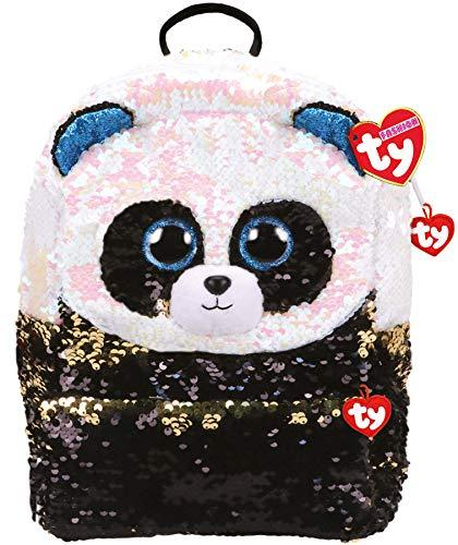Bamboo Sequin Backpack