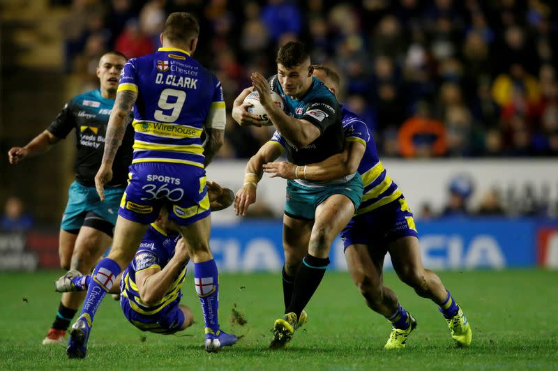 FILE PHOTO: Super League - Warrington Wolves v Leeds Rhinos