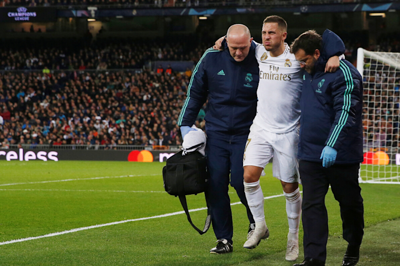 Eden Hazard to Miss El Clasico After Tests Reveal Ankle Fracture