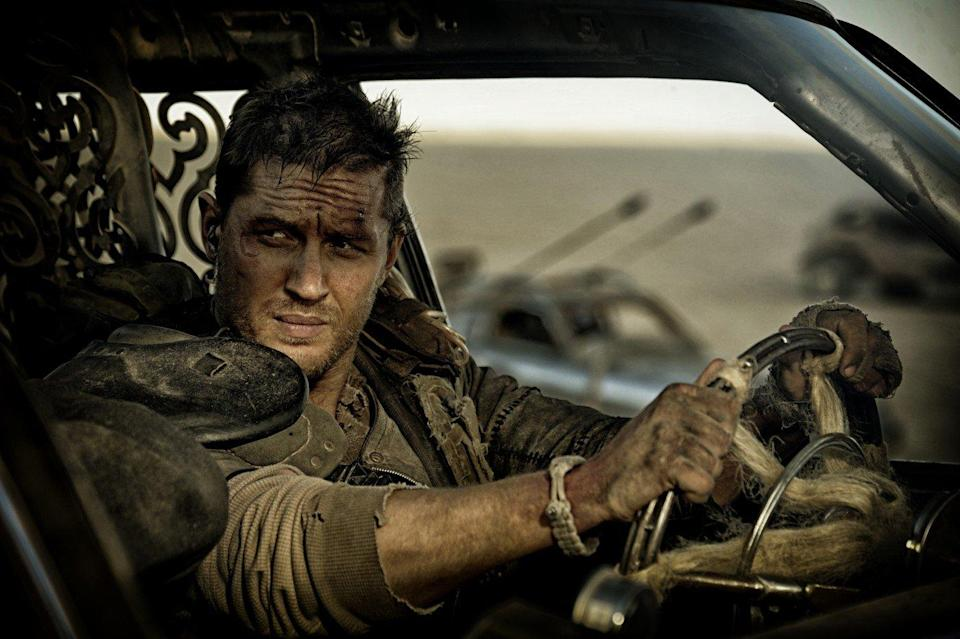 """Tom Hardy takes the wheel in """"Mad Max: Fury Road'. (Warner Bros)"""
