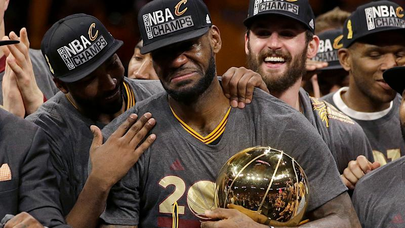 198f4e1b4cc LeBron claims beating 73-9 Warriors in 2016 NBA Finals made him GOAT