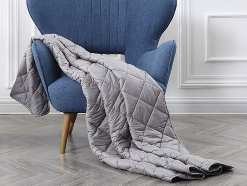 BlanQuil™ Basic Weighted Blanket. (Photo: Yahoo Lifestyle shop)
