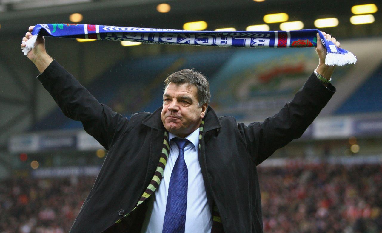 <p>2008: Appointed manager of Blackburn Rovers </p>