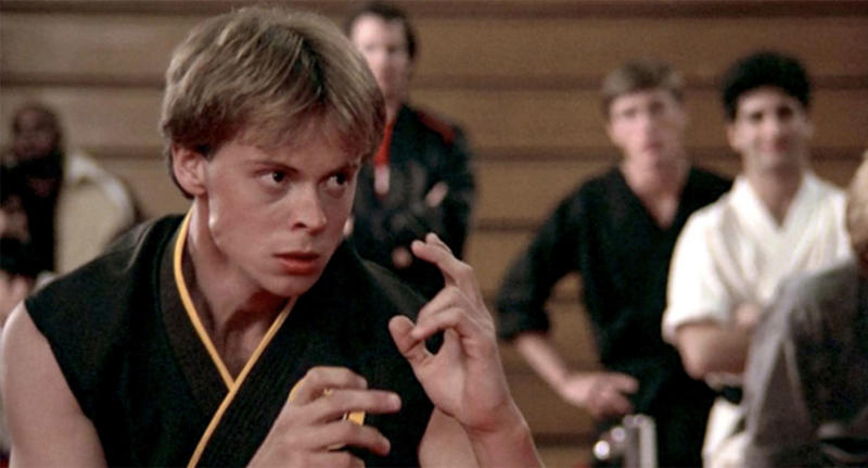 "Rob Garrison was part of ""The Karate Kid"" franchise. (Photo: Columbia Pictures)"