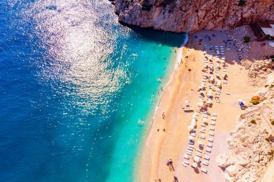 Kaputaş Beach near Kaş, Turkey (istock)
