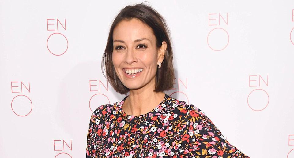 Melanie Sykes attends a VIP performance of 'La Bohème' at London Coliseum on January 29, 2019 in London, England. (Photo by Stuart C. Wilson/Getty Images)