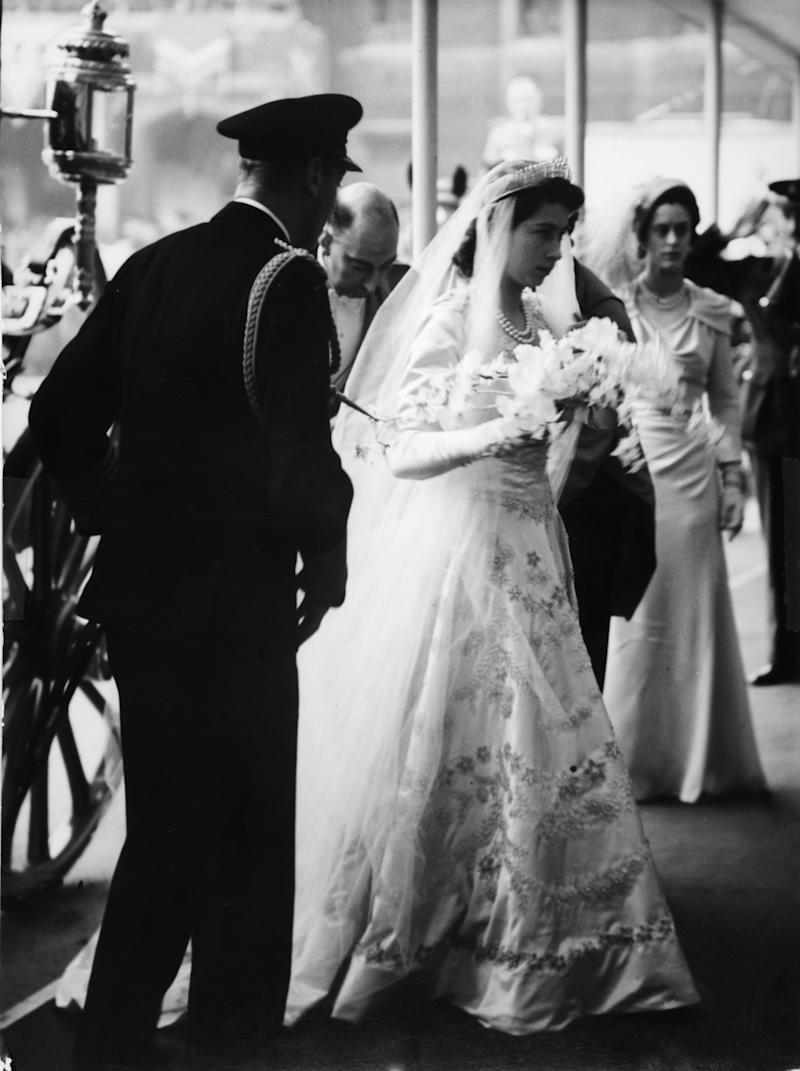 6e106b42f27 This Is How Much It Cost to Replicate Queen Elizabeth s Wedding Dress for   The Crown