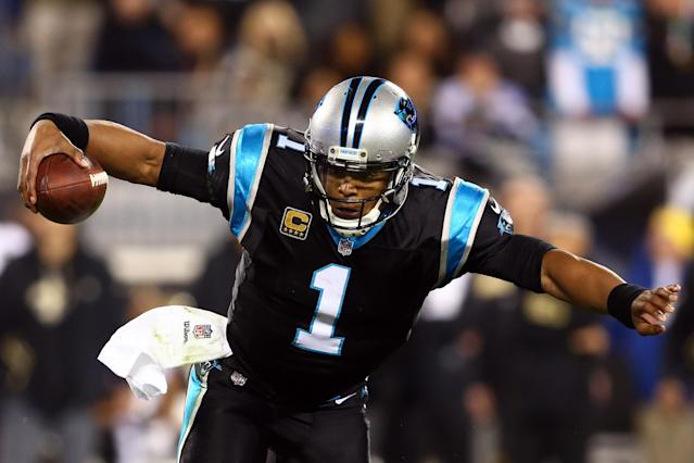 Cam Newton has been reportedly been suffering from a shoulder injury