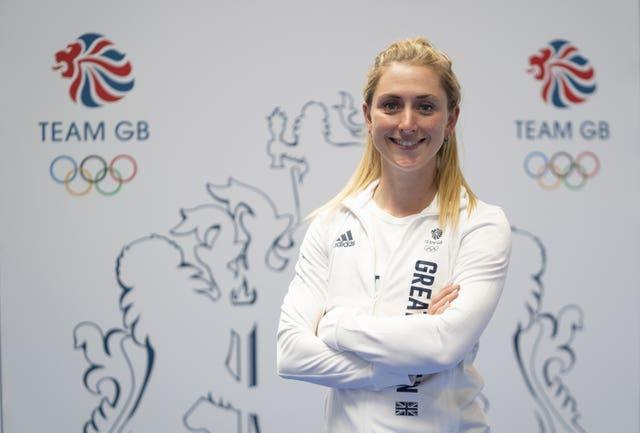 Laura Kenny and the rest of Britain's pursuit team begin their quest for a medal on Monday