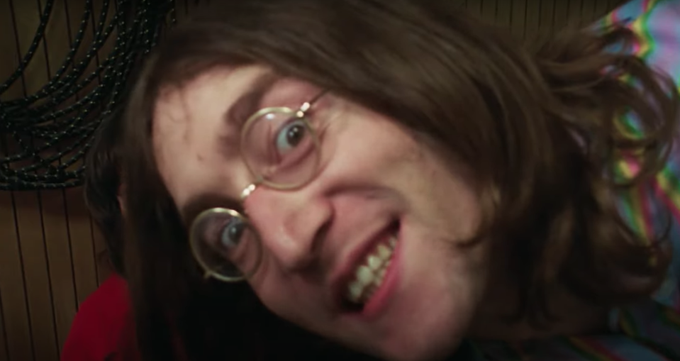 John Lennon in the new Get Back footage (YouTube/Disney)