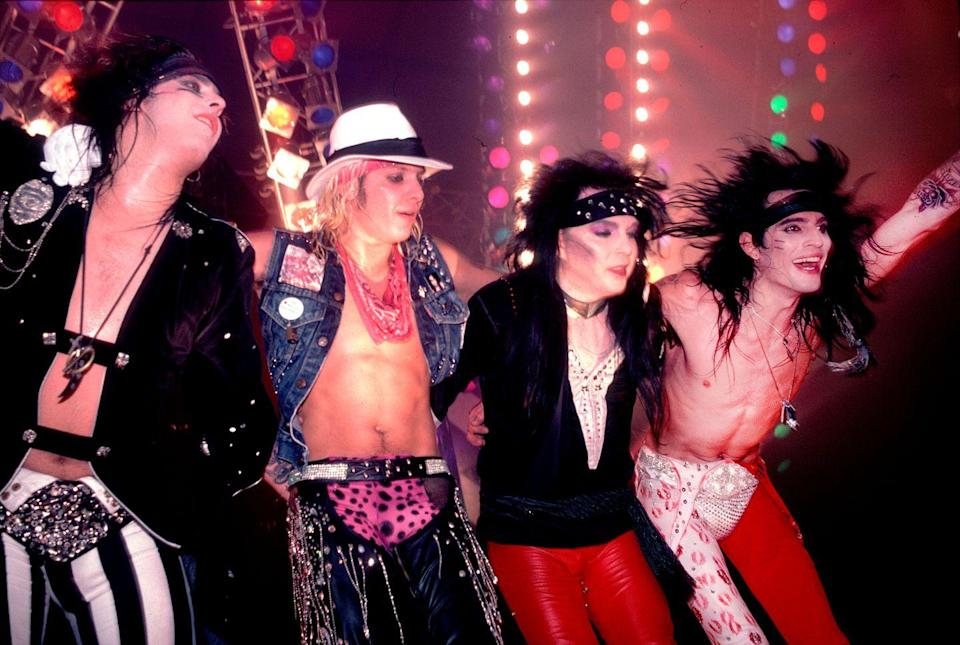 <p>The band's fourth album, Girls, Girls, Girls debuted at No. 2 on the Billboard 200 in 1987. Sixx once claimed that the album would have debuted at No. 1 had it not been for Whitney Houston's record label.</p>