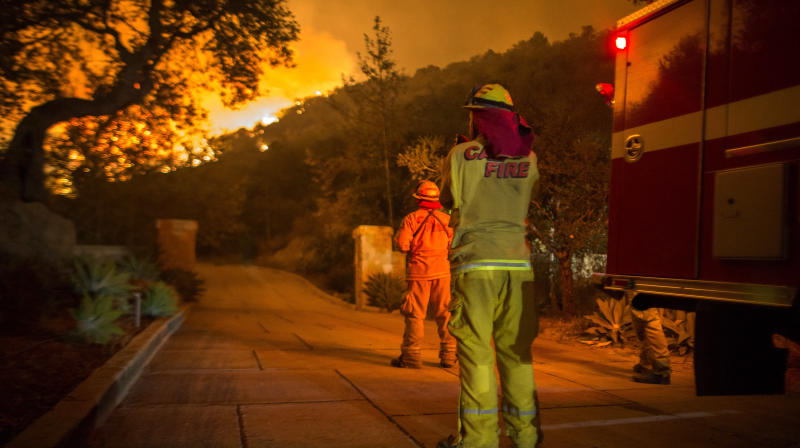 Firefighter Killed Battling Thomas Fire In Southern California, Officials Say