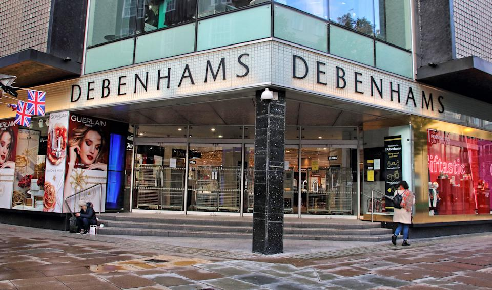 Debenhams department store on Oxford Street (Photo: SIPA USA/PA Images)