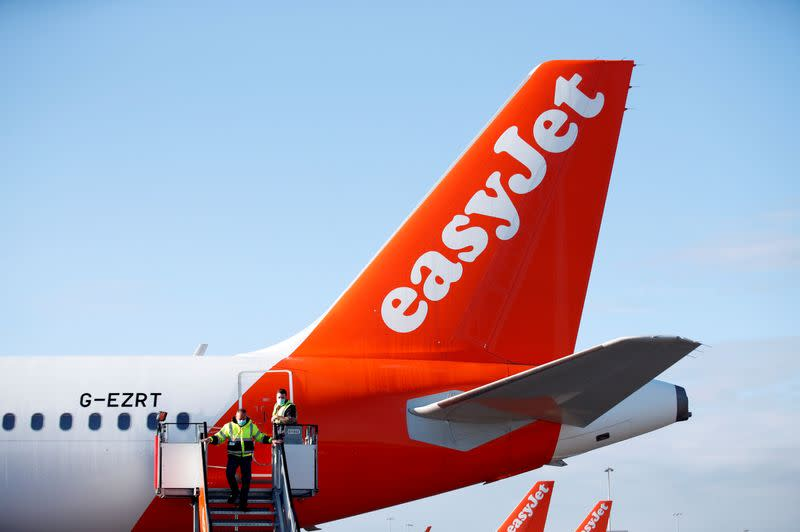 British pilot union to hold confidence vote in easyJet COO