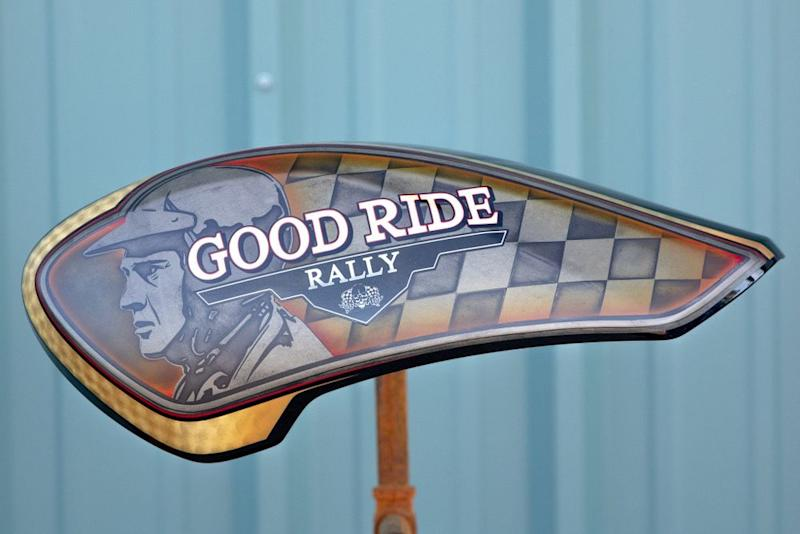 Good Ride Rally tank up for auction | Good Ride Rally