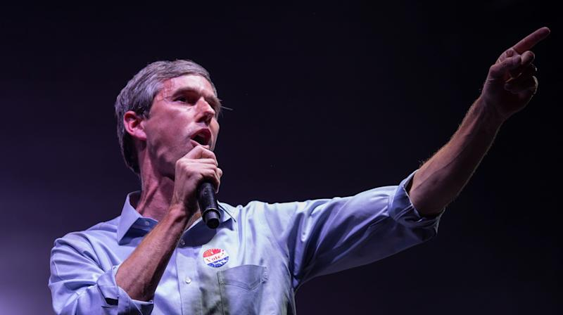 O'Rourke insisted Monday that his appearance at the protest wasn't a personalchallenge to Trump and instead was meant to be in support of the more than 50community groups that organized the march