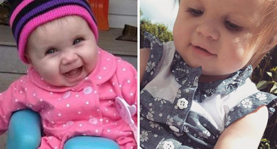 Ariel Salaices, 2, was playing on a backyard playground set when a stray bullet shot her in the head, police say. Source: GoFundMe/Facebook