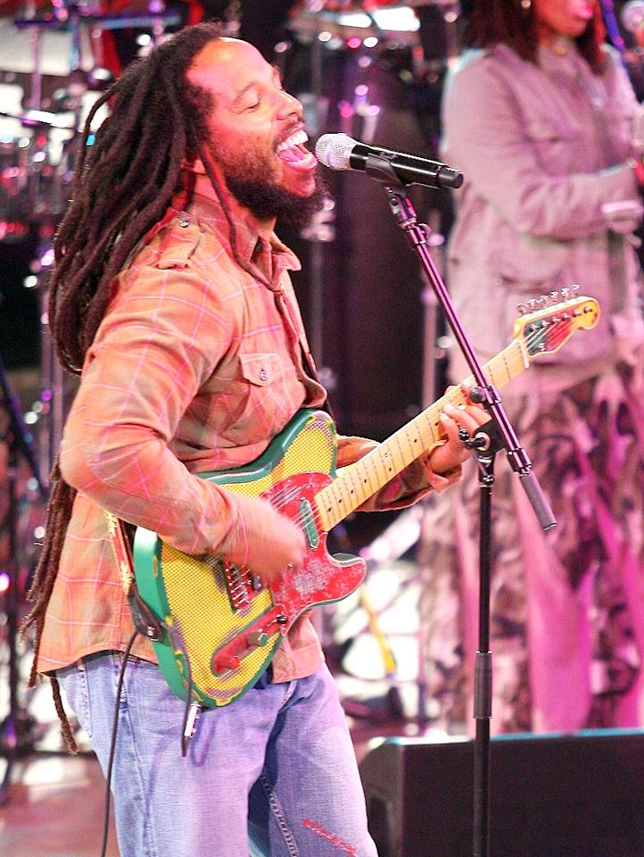 "With chart-topping hits like ""Tomorrow People"" and ""Tumbling Down,"" Bob Marley's son Ziggy followed in his father's footsteps as a successful reggae artist. He's won four Grammys, including Best Reggae Album for his for 2006 album <i>Love Is My Religion</i>. Valerie Macon/<a href=""http://www.gettyimages.com/"" target=""new"">GettyImages.com</a> - October 9, 2009"