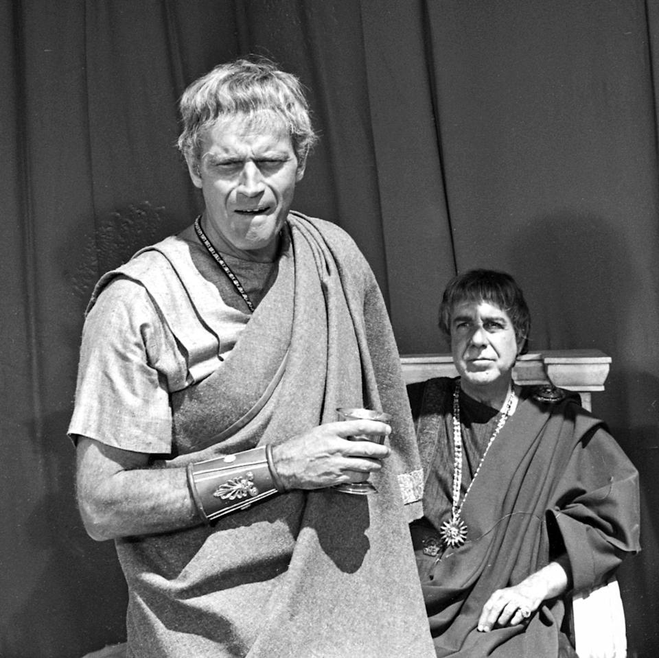 <p>While Charlton Heston has both directed and starred in three films, his first was in 1972. Heston played Mark Anthony opposite Hildegard Neil in <em>Anthony and Cleopatra</em>.</p>