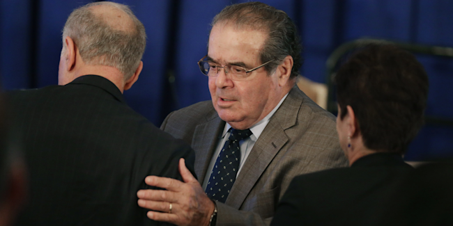 summarization of antonin scalia gods justice and Antonin scalia is an associate justice for the us supreme court, appointed in  1986 by ronald reagan learn more at biographycom.