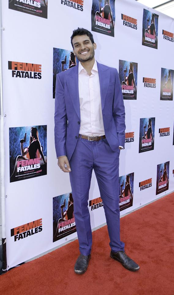 "Asher Deva attends Cinemax's New Series ""Femme Fatales"" - Cast & Crew Screening at ArcLight Hollywood on May 21, 2012 in Hollywood, California."