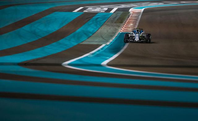 <p>The 18-year-old became the youngest rookie to reach the podium in Formula One when he placed third at the Azerbaijan Grand Prix. (Photo by Robert Szaniszló/NurPhoto via Getty Images) </p>