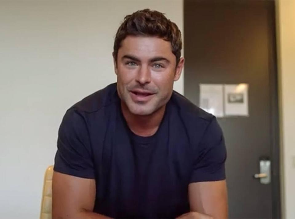 Zac Efron Earth Day Face