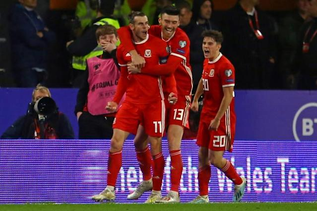Gareth Bale scored his 33rd Wales goal as they drew 1-1 with Croatia (AFP Photo/GEOFF CADDICK)