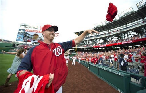 Teddy wins 1st, Nationals win majors-high 98th