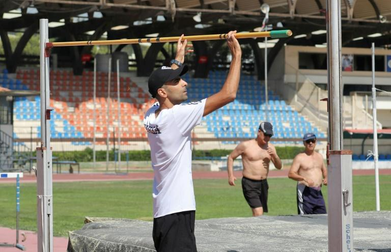 High jumper Majd Eddin Ghazal's preparations for Tokyo has been unable to link up with coach who is working in Oman