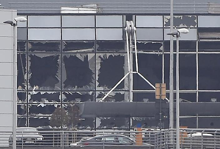 Twin attacks by suicide bombers in Brussels on March 22 2016, killing 32 people, occurred after police came across a weapons cache (AFP Photo/JOHN THYS)