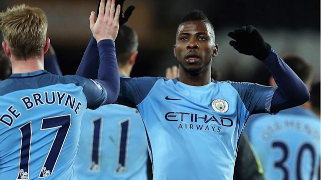 Arsenal versus Manchester City was a key subject of discussion for Alex Iwobi and Kelechi Iheanacho while they were on Nigeria duty.
