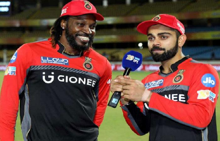 Kohli-Gayle-AB trinity is talk of Kolkata at Eden's