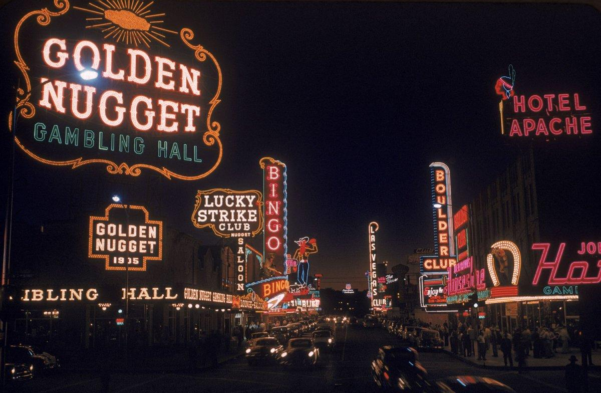 Not published in LIFE. Las Vegas, 1955.