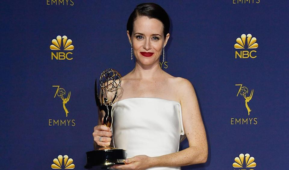Claire Foy wins Guest Drama Actress Emmy for 2-minute appearance in The Crown