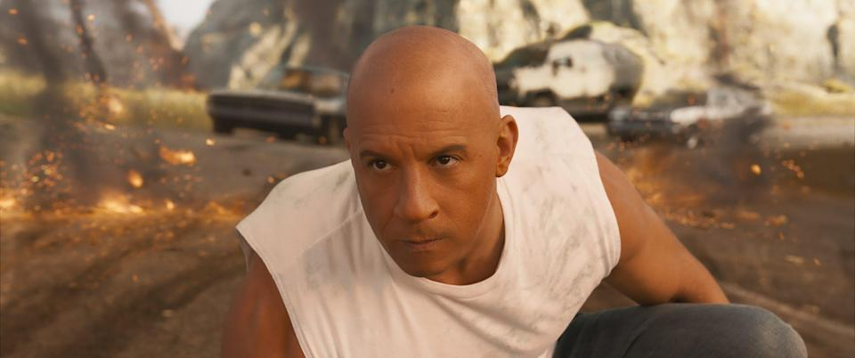 """Vin Diesel as Dom Toretto in """"F9,"""" co-written and directed by Justin Lin."""