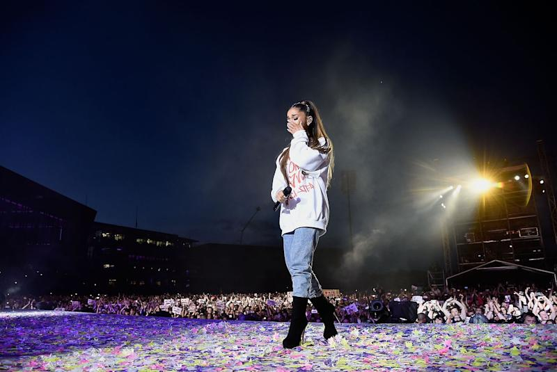 Photo credit: Kevin Mazur/One Love Manchester - Getty Images