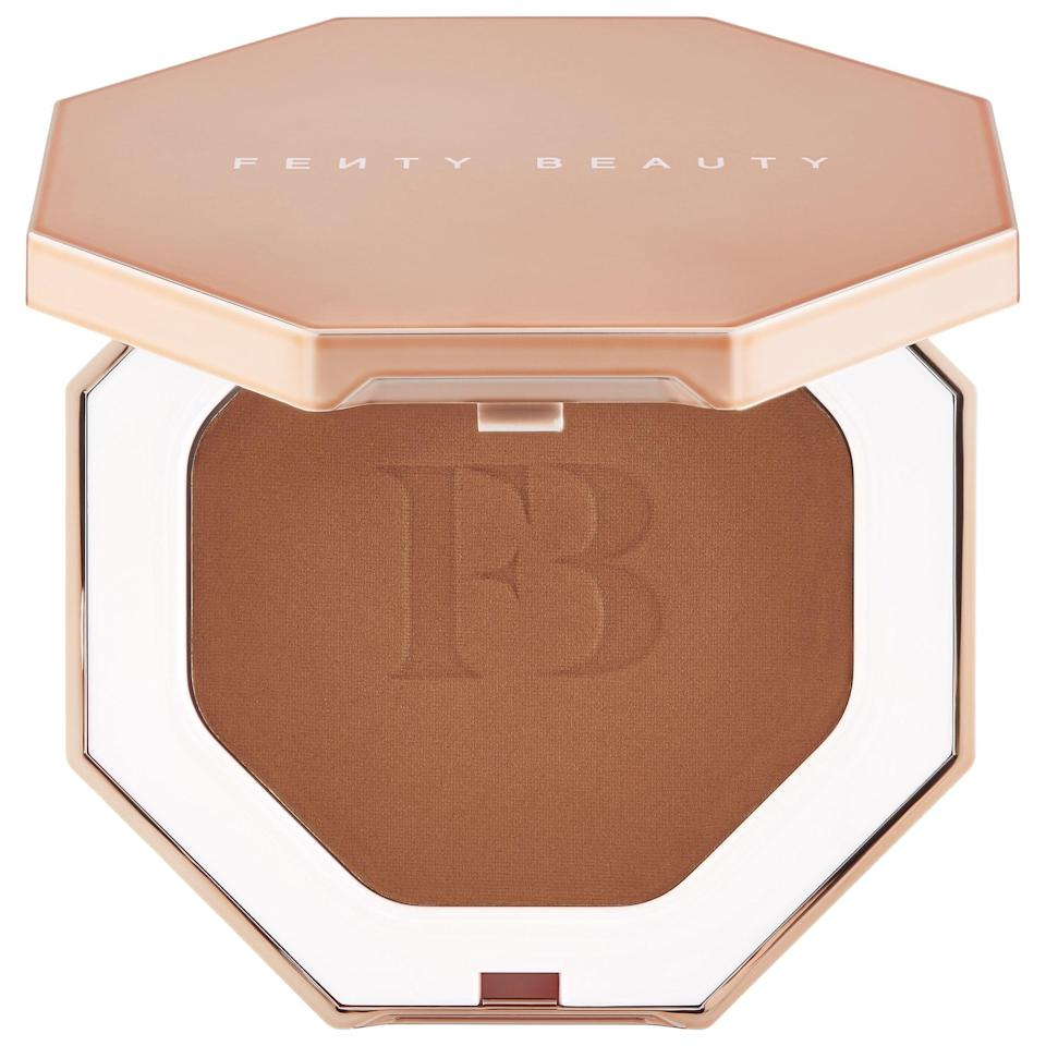 <p>The <span>Fenty Beauty Sun Stalk'r Instant Warmth Bronzer</span> ($30) comes in nine matte shades, making it easy to find your perfect match.</p>