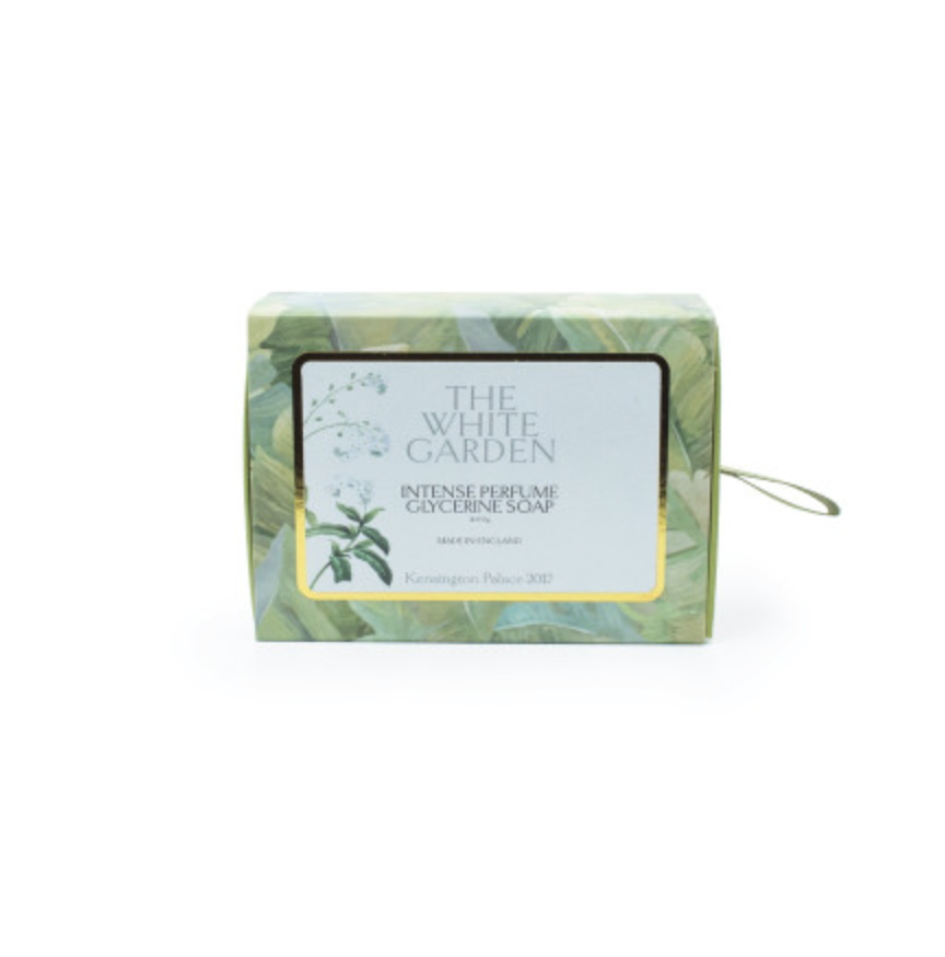 """<p>If you haven't had chance to visit the White Garden yet don't worry, as you can purchase a bar of soap which boasts scents of freesia, lily of the valley and rose – all of which are found in the grounds of Kensington Palace.<br><em><a rel=""""nofollow noopener"""" href=""""http://www.historicroyalpalaces.com/whitegarden-soapbar.html"""" target=""""_blank"""" data-ylk=""""slk:Historic Royal Palaces"""" class=""""link rapid-noclick-resp"""">Historic Royal Palaces</a>, £9.99</em> </p>"""