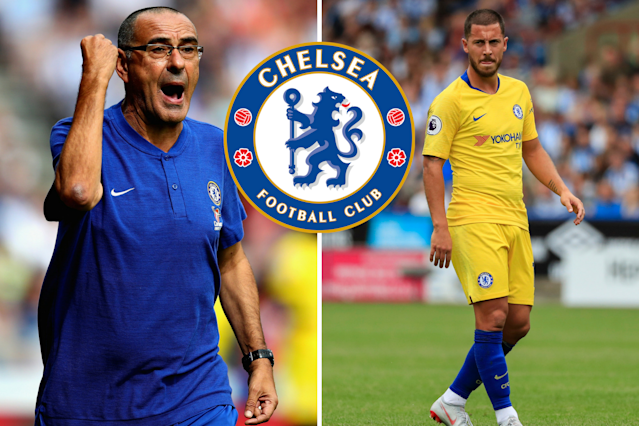 Chelsea boss Maurizio Sarri will build his team around Eden Hazard to keep him