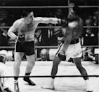 <p>TORONTO, ON – 1966: George Chuvalo in the ring with Muhammad Ali, 1966. (Doug Griffin/Toronto Star via Getty Images)</p>