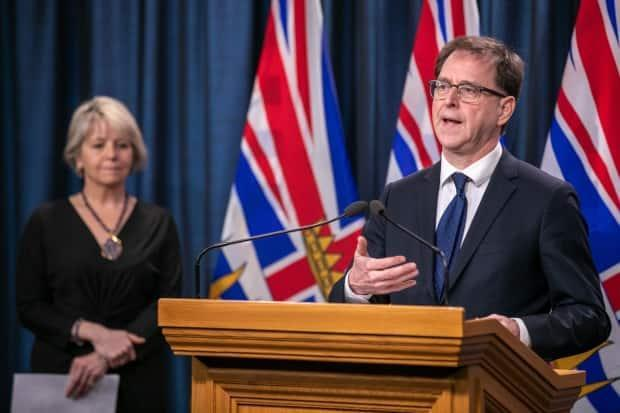 B.C. Health Minister Adrian Dix says the effect of vaccinations will be seen in the province's COVID-19 case counts within a couple of months. (Mike McArthur/CBC - image credit)