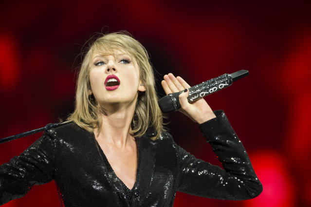 "Taylor Swift during her ""1989"" tour in Dublin. (Photo: Carrie Davenport/TAS/Getty Images for TAS)"
